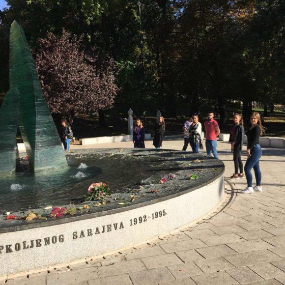 Posjeta Spomeniku ubijenoj djeci