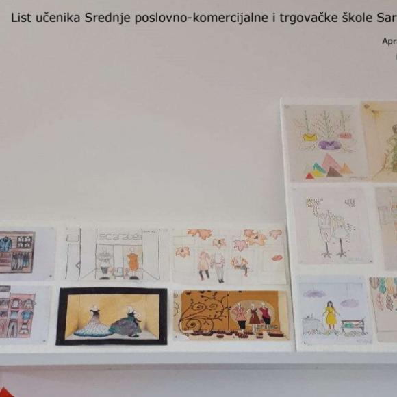 List učenika Srednje poslovno-komercijalne i trgovačke škole Sarajevo